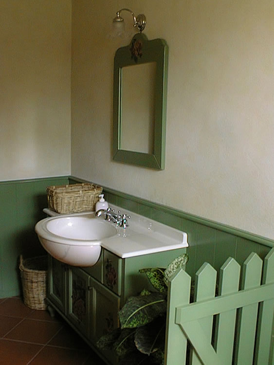 Mobili Bagno Country Legno Ferro Battuto Pictures to pin on Pinterest