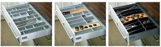 Gli accessori e la ferramenta - Guide per cassetti ikea ...